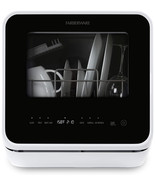 Farberware FDW05ASBWHA Complete Portable Countertop Dishwasher with 5-L... - $315.98