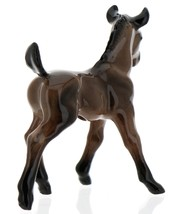 Hagen-Renaker Miniature Ceramic Horse Figurine Wild Mustang Colt Bay image 3