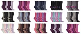 6 paia donna morbido fantasia cotone colorato eleganti fantasini calzini  - $14.69 CAD