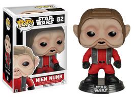 Star Wars The Force Awakens Nien Nunb Vinyl Pop Figure Toy #82 Funko New Nib - $8.79