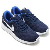 Nike Tanjun Men's Navy Blue Running Shoes 812654 414 - $39.99