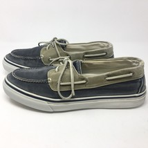 Men's Sperry Top-Sider Bahama 2-Eye Canvas Boat Shoes Sneakers 0561333 S... - $37.99