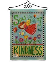 Sow Seeds of Kindness Burlap - Impressions Decorative Metal Wall Hanger Garden F - $33.97