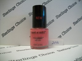 Wet n Wild Megalast Color Nail Polish #209B Candy-licious - $5.82