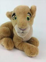 "Disney Store The Lion King Laying Young Nala Lioness 14"" Plush Stuffed Toy image 3"