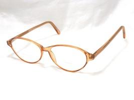 Modern Optical NATALIE Women's Eyeglasses Frame, Oval Clear Brown 52-18-... - $24.70