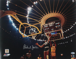 KAREEM ABDUL-JABBAR SIGNED MILWAUKEE BUCKS 16x20 Photo (Beckett COA J55823) - $186.99