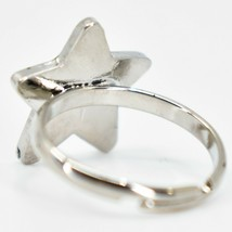 Kid's Fashion Silver Tone Star Color Changing Fashion Adjustable Mood Ring image 2