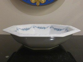 Rosenthal Classic Rose Collection Maria Blue Garland Octagonal Serving B... - $45.00