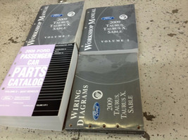 2009 Ford Taurus X Mercury Sable Service Repair Shop Manual Set W EWD & ... - $74.20