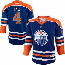Taylor Hall Edmonton Oilers Reebok Youth Replica Player Hockey Jersey - $64.99
