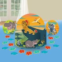 Lion Guard Table Top Party Decorations 3 Pieces Per Package Plus Confett... - $6.52