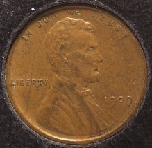 1909 Lincoln Wheat Back Penny EF #0274 - $6.39