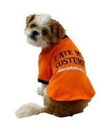 I ATE MY COSTUME #idontdohalloween Orange Dog Costume Halloween Shirt XS - $2.99