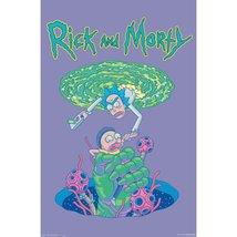 Rick And Morty - Portal Fall Poster - $11.99