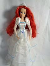 Disney Princess Ariel Little Mermaid Articulated Doll w/ Wedding Dress /... - $22.72