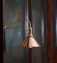 Vintage Industrial Copper shade Wall Lamp Retro Edison Wall Mount DIY Li... - $129.97