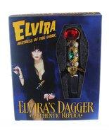 elvira mistress of the dark authentic  prop  dagger  - $99.00