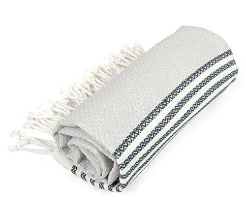 DII Peshtemal Turkish Super Soft, Absorbent, Oversized Bath Towel, Throw, & Blan