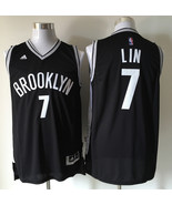 Brooklyn #7 Jeremy Lin Black Jersey.jpg - $26.66