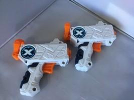 LOT OF 2 ZURU XSHOT MICRO DART GUNs X-SHOT BB - $17.62
