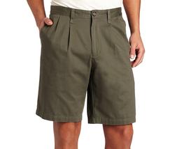 $48 Dockers Men's Perfect Short D3 Classic-Fit Pleated Short, Oregano, S... - $24.74