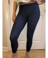 ARMANI EXCHANGE  Women's Blue Leggings Size Medium - $59.39