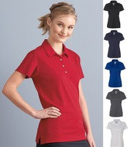 JERZEES Moisture Wicking Dri-Power Ladies Polyester Shirt Polo 441W 441-... - $11.05 CAD+