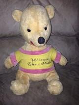 "Vintage Disneyland Winnie the Pooh Plush Approx 12"" Made by J. Swedlin GUND - $118.80"