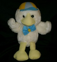 "12"" VINTAGE 1987 COMMONWEALTH STUFFED ANIMAL PLUSH TOY YELLOW CHICKEN CH... - $28.05"