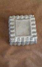 Vintage Nordic Ware Replacement Aluminum Timbale Square Shape FREE SHIPPING - $6.00