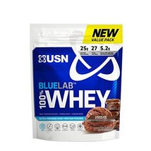 USN BlueLab 100 Percent Whey, 2 Pounds, Molten Chocolate - $33.98