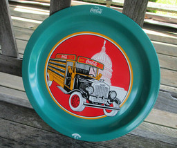 Coca-Cola Commemorative Tray 9th Cola Clan Convention Antique Truck Issu... - $9.90