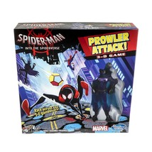 Marvel Spider Man Into the Spider Verse Prowler Attack 3 D Race Game Age 6+ - $28.00