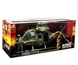 King Kong Skull Island Storm Strike Monarch Expedition Team Helicopter L... - $28.04