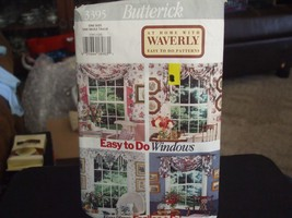 Butterick 3395 Variety of Window Valances Sewing Pattern - $5.04