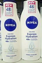 NIVEA Express Hydration Body Lotion Deep Moisture 48 Hours 250 mL - $19.80