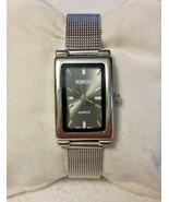 Rumours Women's Quartz Watch Silver Mesh Adjustable Band - $10.03