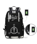 WISHOT Panic At The Disco backpack multifunction USB charging Travel bag... - $50.92