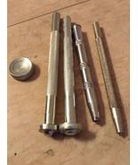 5 Vintage Craftool Co USA Leather Stamp Tools 52, 53, 101 Dot Rivet Setter - $15.97
