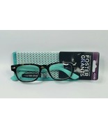 Foster Grant Keena Aqua and Tortoise Women's +3.00 Reading Glasses W/Case - $11.71