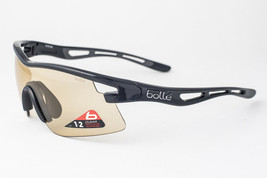 Bolle Vortex Shiny Black / Photo Amber Sunglasses 11412 - $107.31