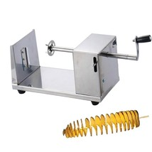 Spiral Potato Cutting Machine Vegetable Cutter Fruit Slicer Twister Cook... - €34,75 EUR