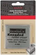 General Pencil GEN-140E-BP Jumbo Grey Kneaded Eraser Multicolor - $5.02