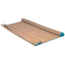 Straw Beach Mat with Colored Trim Roll Easy Carry Picnic Mat Summer Outdoor - €15,13 EUR