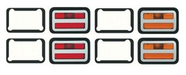 OER Front and Rear Side Marker Light Set 1971 Dodge Charger and Super Bee - $217.78