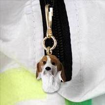 American Foxhound Zipper Charm - $4.99