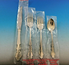Dover by Oneida Sterling Silver Flatware Set for 12 Service 48 pieces Ne... - $2,895.00