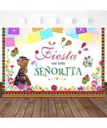 Mehofoto Fiesta Baby Shower Backdrops Tribe Little Princess Photography ... - $19.50