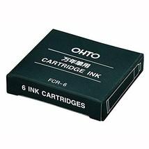 *10 boxes auto fountain pen cartridges Ink Black FCR-6 Black 10P - $25.12